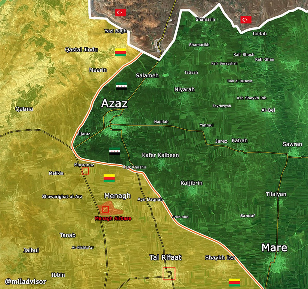 Pro-Turkish Militants Attack YPG Forces In Northern Aleppo