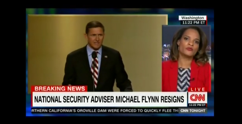 CNN Admits Existence of 'War on Trump', Declares Victory after Flynn Resignation