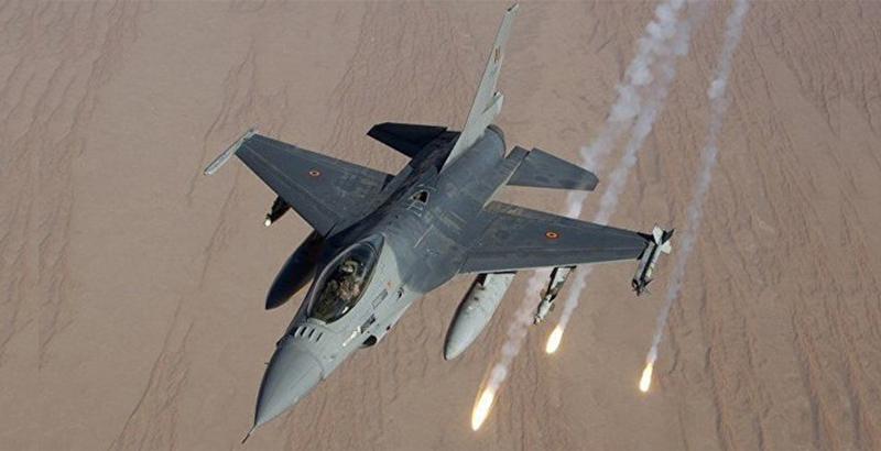 US Air Force's Fighter Jets Launch Missiles On US Military Base: 1 Soldier Killed