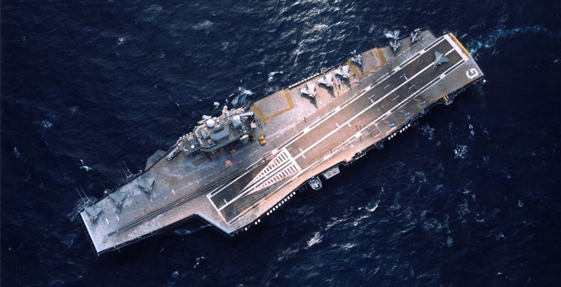 Role Of Charles De Gaulle Nuclear Aircraft Carrier In Operations Of French Military In Middle East