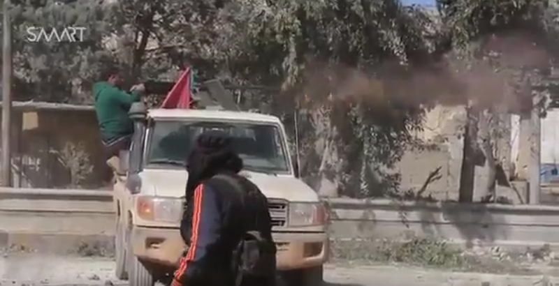 Pro-Turkish Militants Break Through to Center of Al-Bab City (Video)