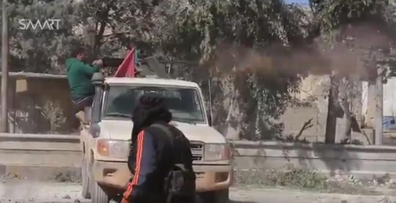Pro-Turkish Militants Break Through to Center of Al-Bab City (Video)