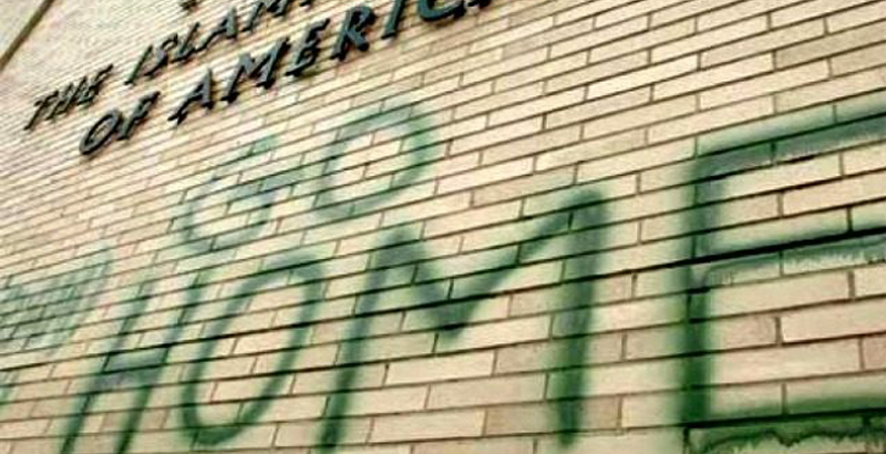 FAKE HATE CRIME: Wisconsin College Student Puts Anti-Muslim Graffiti on Own Door to Get Attention