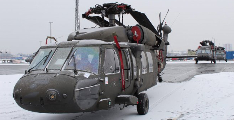US Dispatches 49 Military Helicopters to Europe to Confront Russia (Photo)
