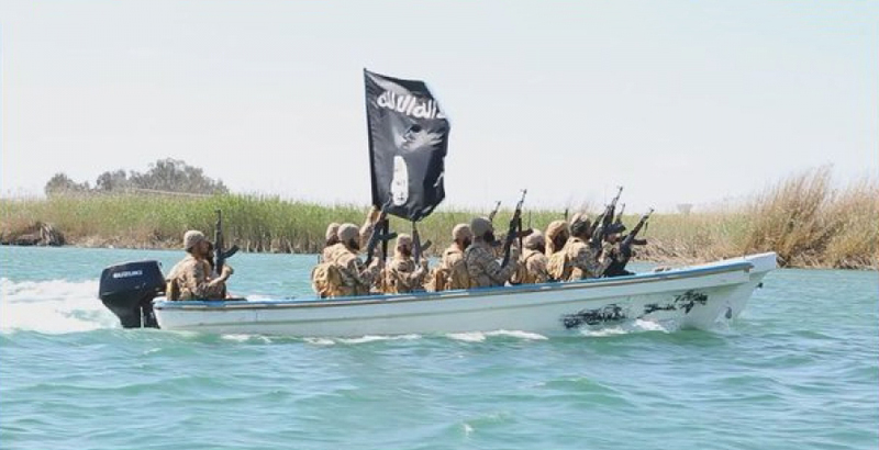 Fight against River Flotillas of ISIS in Iraq