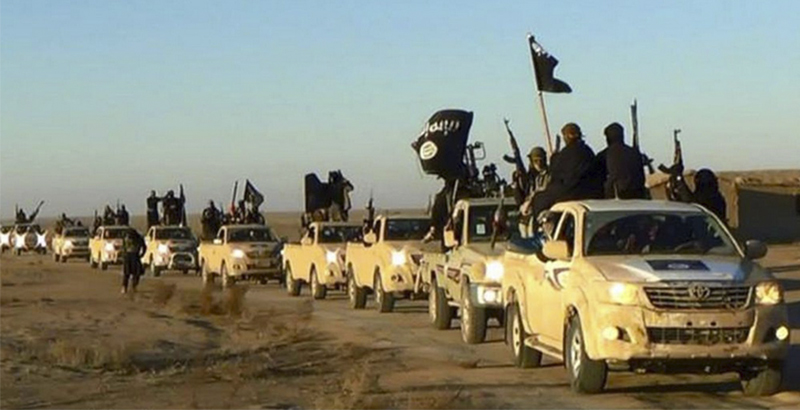 ISIS Sends Large Military Convoy to T-4 Airbase in Response to Syrian Army's Advances