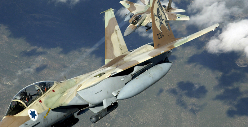 Israeli Air Force Carries Out 19 Airstrikes on Gaza Strip