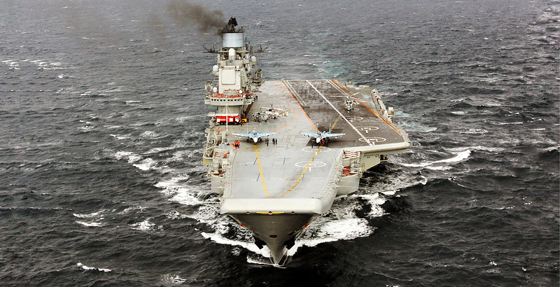 Admiral Kuznetsov's Voyage to Syria to Help Develop New Tactics for Russian Navy