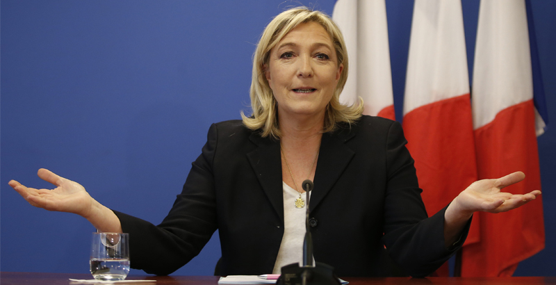 Marine Le Pen May Copy Donald Trump's Immigration Ban if Elected