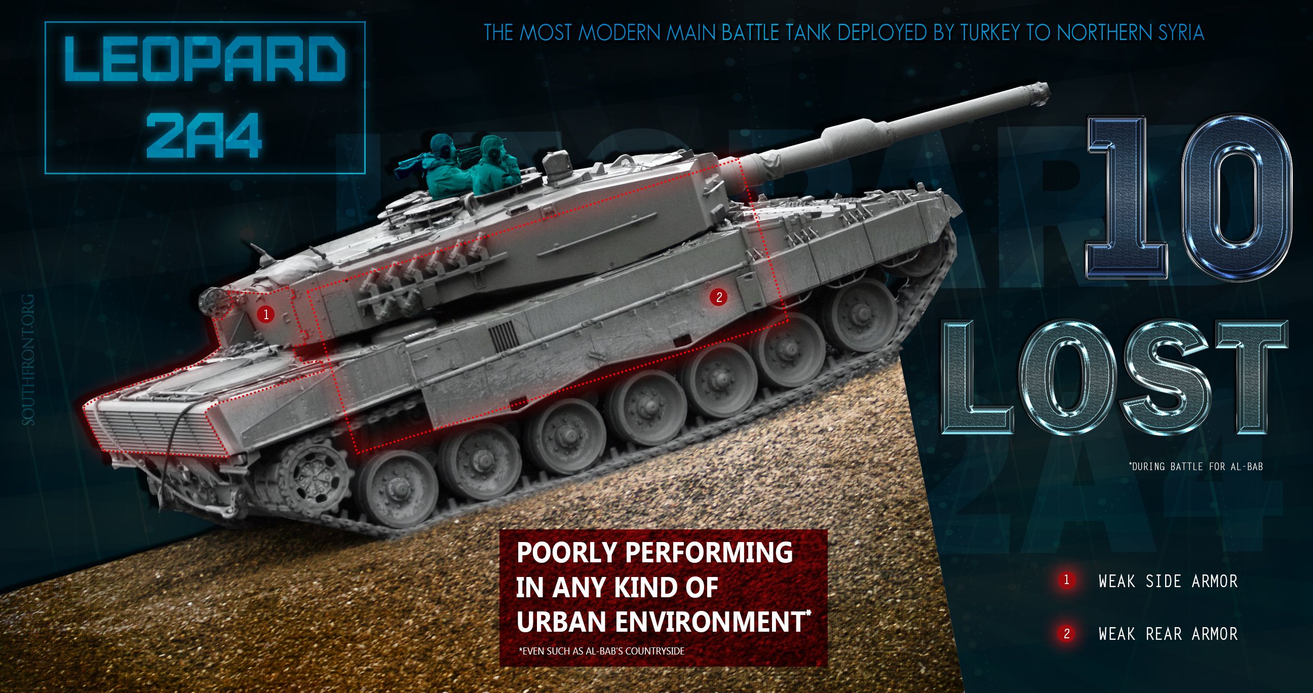 15edd9952fac ISIS Destroyed Myth Of Germany s Indestructible Leopard 2 Tank