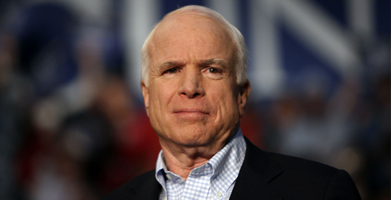 John McCain Calls on Donald Trump to Send Lethal Weapons to Ukraine