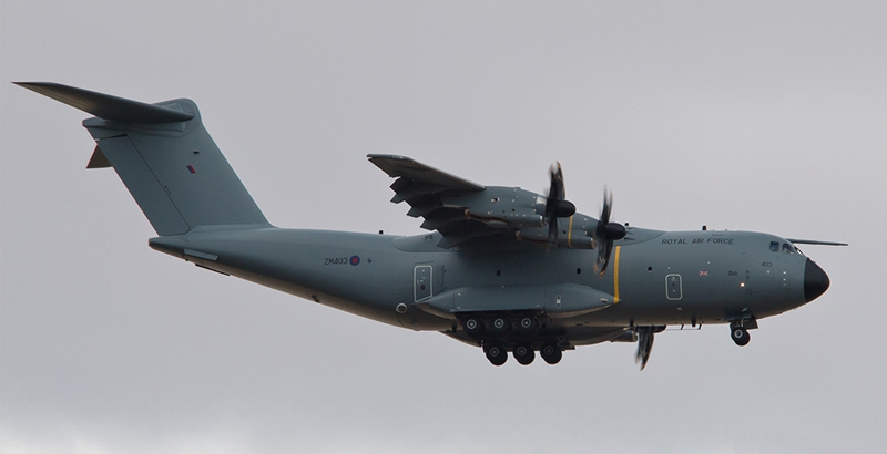 Only One of Eight А400М Aircraft of German Air Force Is Capable to Fly