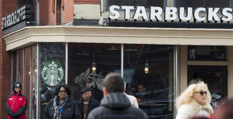Starbucks Brand Crashes after Announcement of Plan to Hire 10,000 Refugees