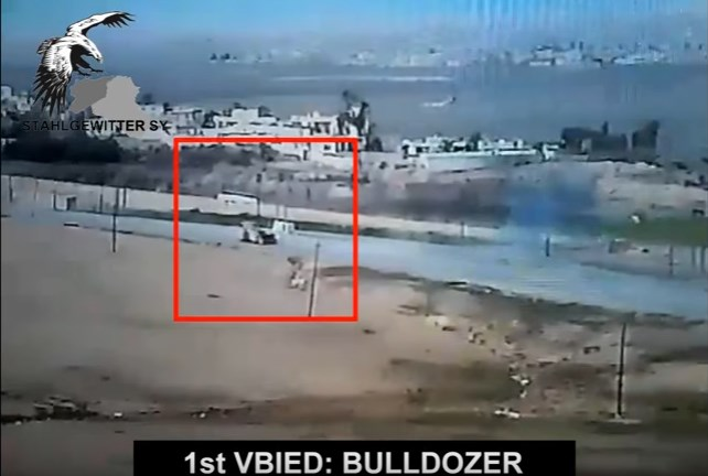 Footage: Iraqi Army In Action Against ISIS Suicide Bombers In Mosul