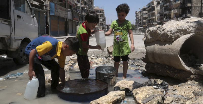Syria's Aleppo Residents to Get Drinking Water Supply Soon