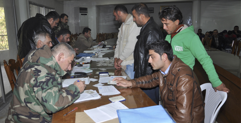 Syrian Government Amnesties 700 Militants in Damascus Province