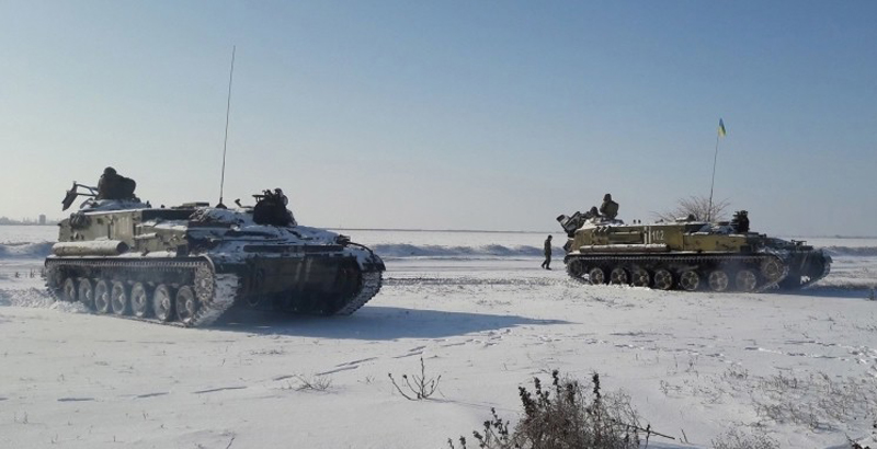 Ukrainian Armed Forces Plan to Cut Across Seversky Donets River in Donbass