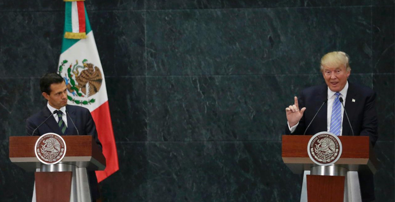 Donald Trump Threatens to Send US Troops to Mexico