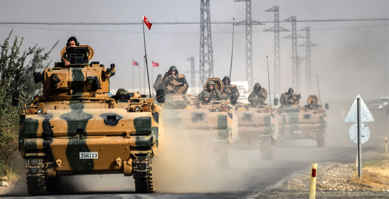 Turkey Sends Additional Troops & Military Hardware to Syria