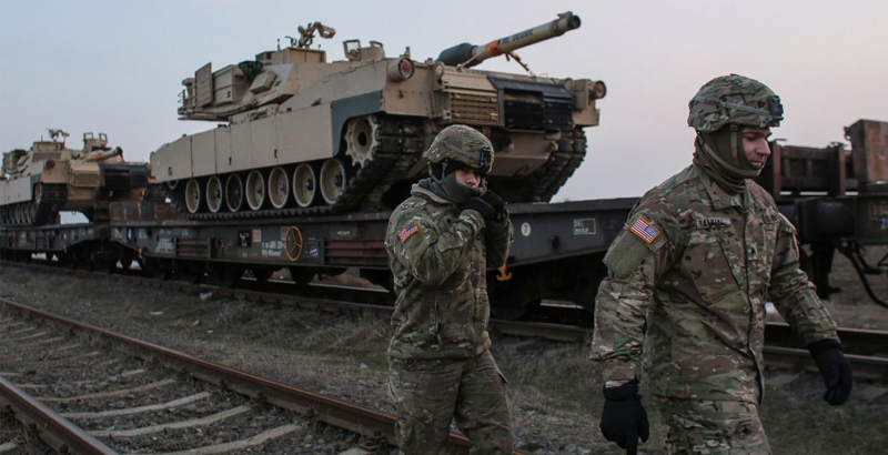 US Nuclear Forces Held Wide-Scale Drills In Europe