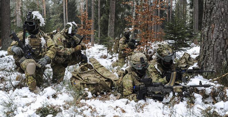 Pentagon Starts 'Logistics Offensive' on Russian Borders