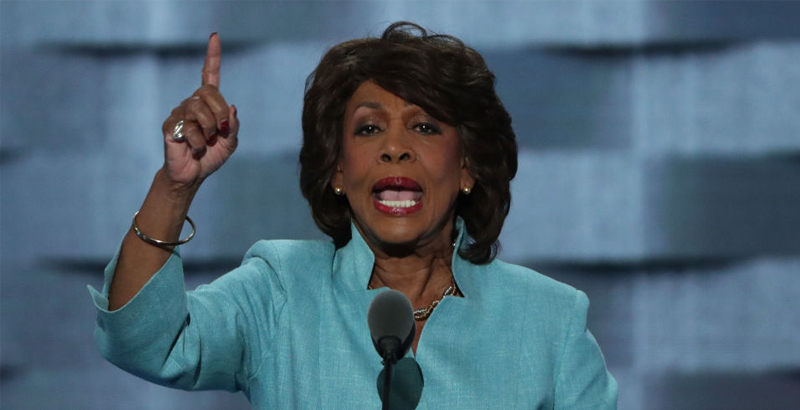 Maxine Waters Slams Trump for 'Wrapping His Arms around Putin', Who 'Continue to Advance into Korea' (Video)