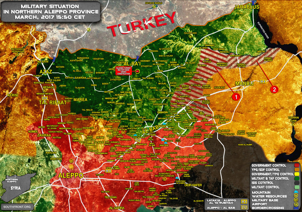 US-Backed Syrian Democratic Forces To Hand Over Wide Areas West And Northwest Of Manbij To Syrian Army