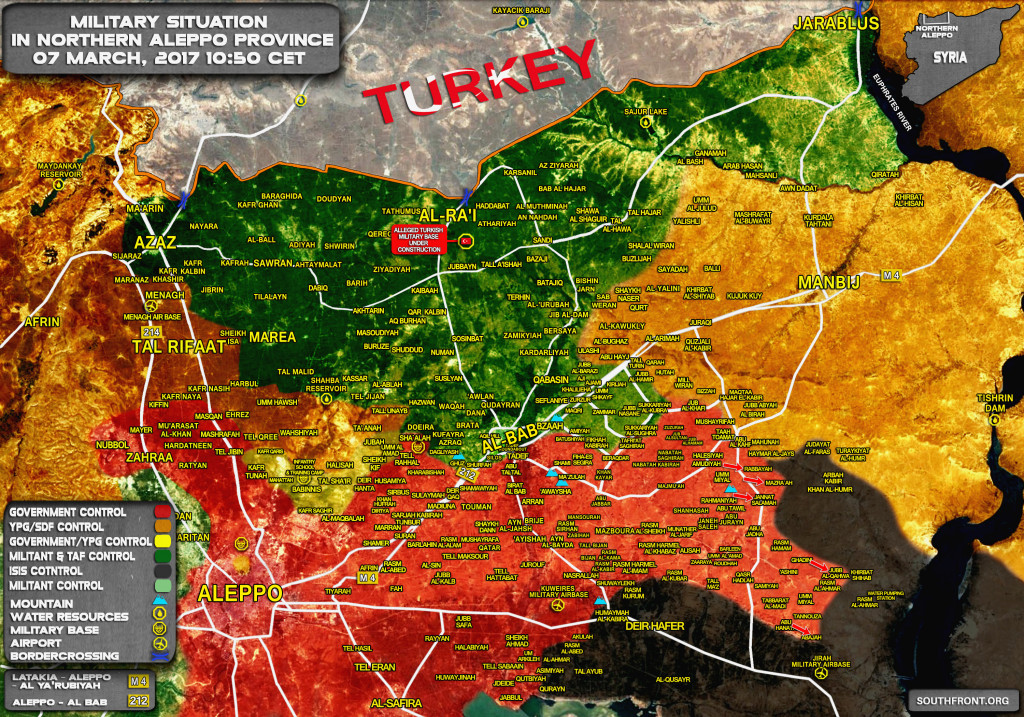 Tiger Forces Liberate 8 More Villages From ISIS In Aleppo Province (Map)