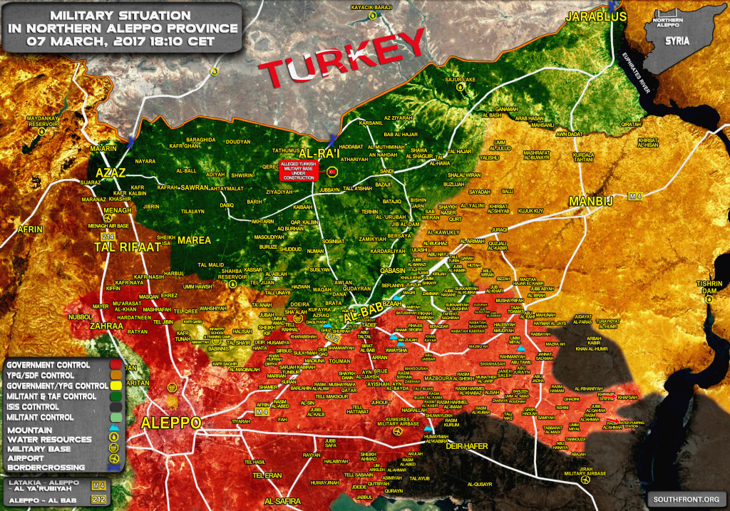 Government Forces Liberate Khafsah And Nearby Water Treatment Station (Map Update)