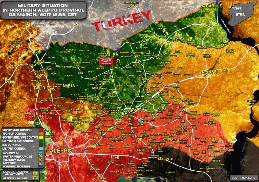 Syrian Government Forces Advancing On Jihar Air Base (Map Update)