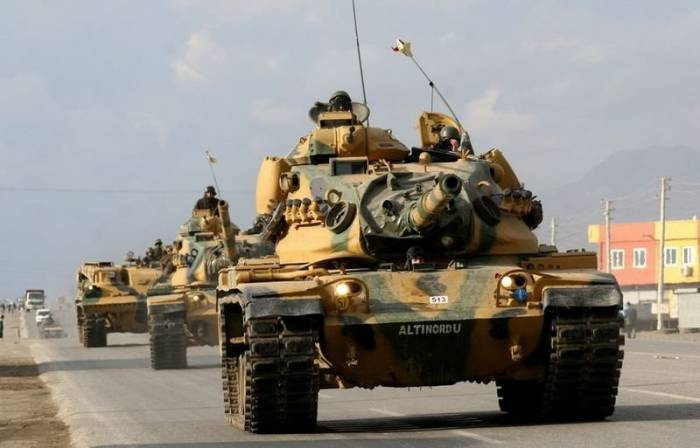 Turkish Military Established 'Temporary' Military Base In Syrian Town Of Al-Bab