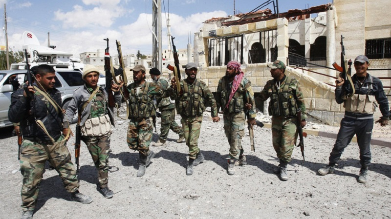 Syrian Government Forces Making Gains Against Militants In Al-Qaboun Area In Eastern Damascus