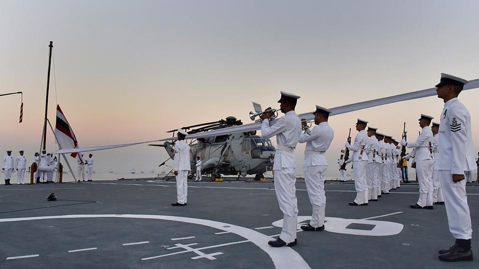 Indian Navy Decommissions Its Viraat Aircraft Carrier (Photo & Video)