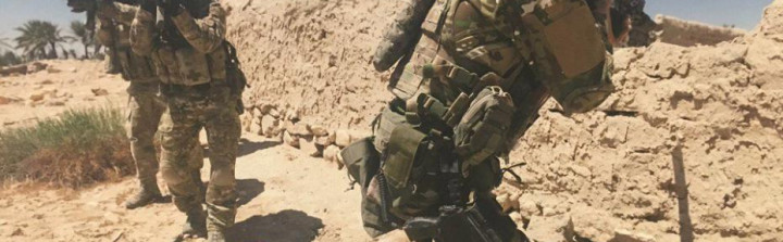 Russian Special Operations Forces in Palmyra