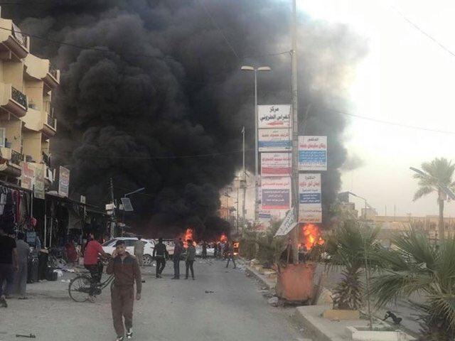 Bomb Attacks Hit Iraq's Baghdad And Tikrit, Killing And Wounding Many Civilians