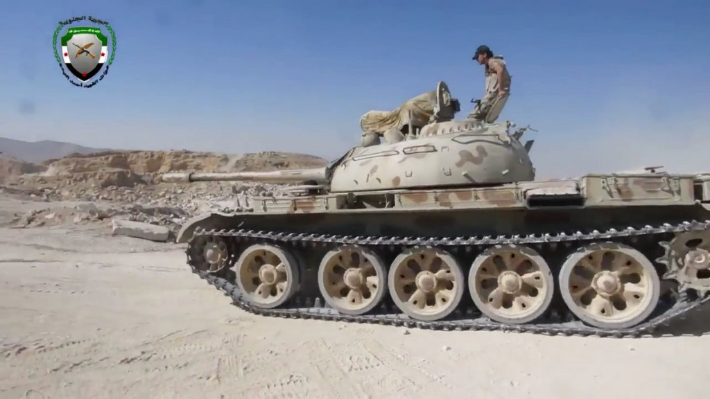 Free Syrian Army Launches Advance Against ISIS In Eastern Qalamoun