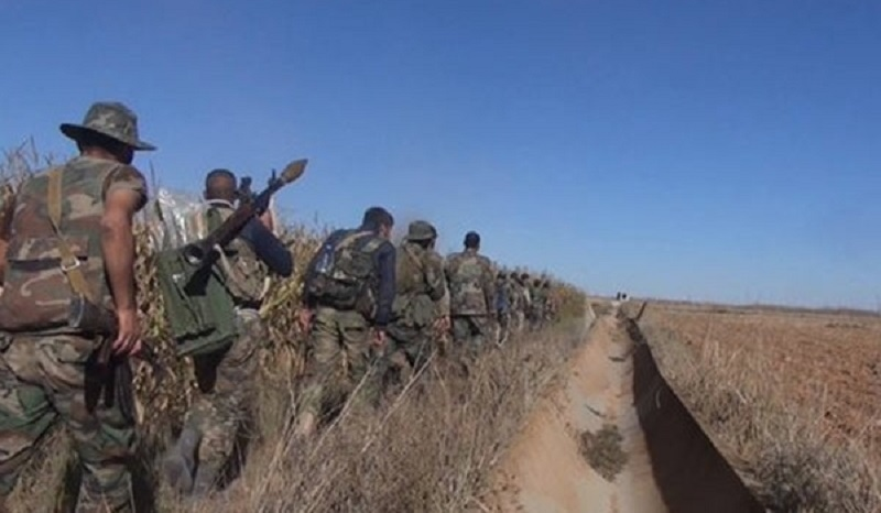 Syrian Army Further Outflanks Deir Hafer From Southern Direction, Gains Two Villages And Hill Top