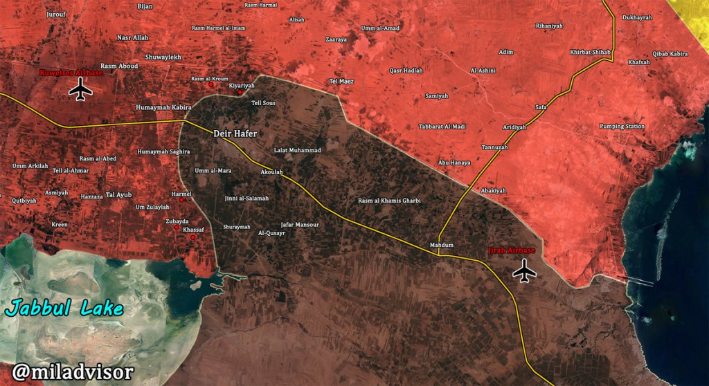 Syrian Army Retakes Another Village In Eastern Aleppo