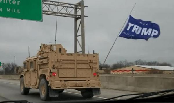 """Navy Punishes """"Special Warfare Unit"""" For Flying Trump Flag In Military Convoy"""