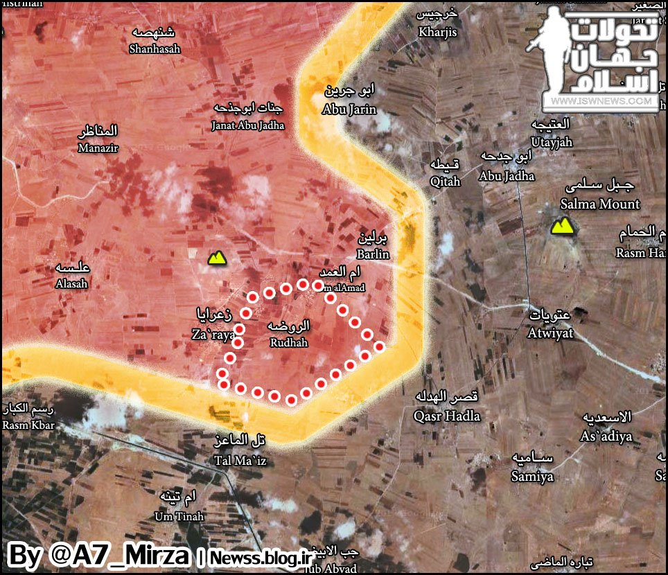 Syrian Army's Tiger Forces Gain 2 More Villages In Aleppo Province (Map)