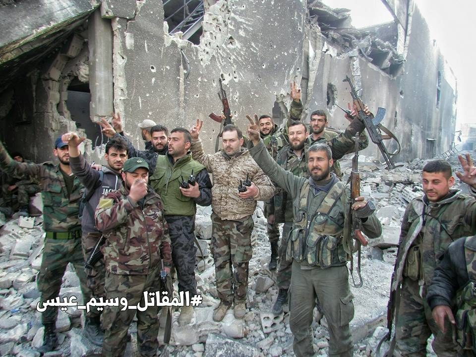 Battle For Jobar - Big Photo Report