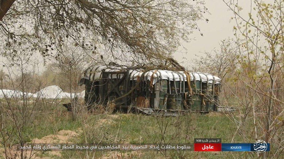 ISIS Seizes Humanitarian Aid Dropped for Syrian Military in Deir ez-Zor
