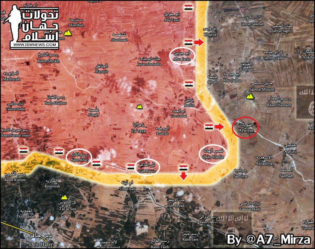Syrian Army Retakes 5 More Villages From ISIS In Aleppo Province