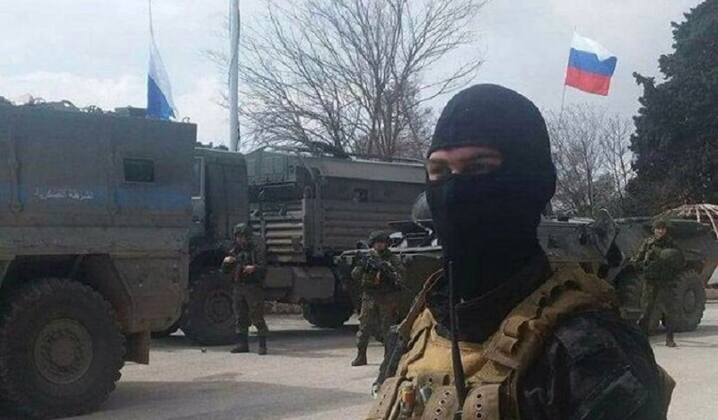 Russians are in Afrin