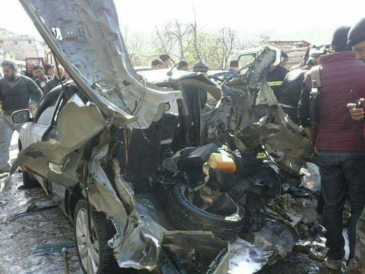 US-led Coalition Air Strike Kills High Ranking Hayat Tahrir Al-Sham Commander In Idlib (Photos)