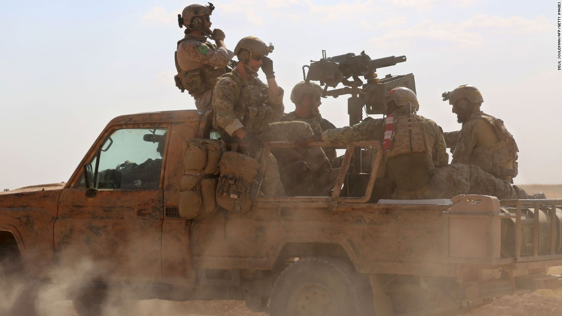 US Troops Cut Off Route between Aleppo And Raqqa After Making Surprise Airdrop Near Tabqa - Unconfirmed