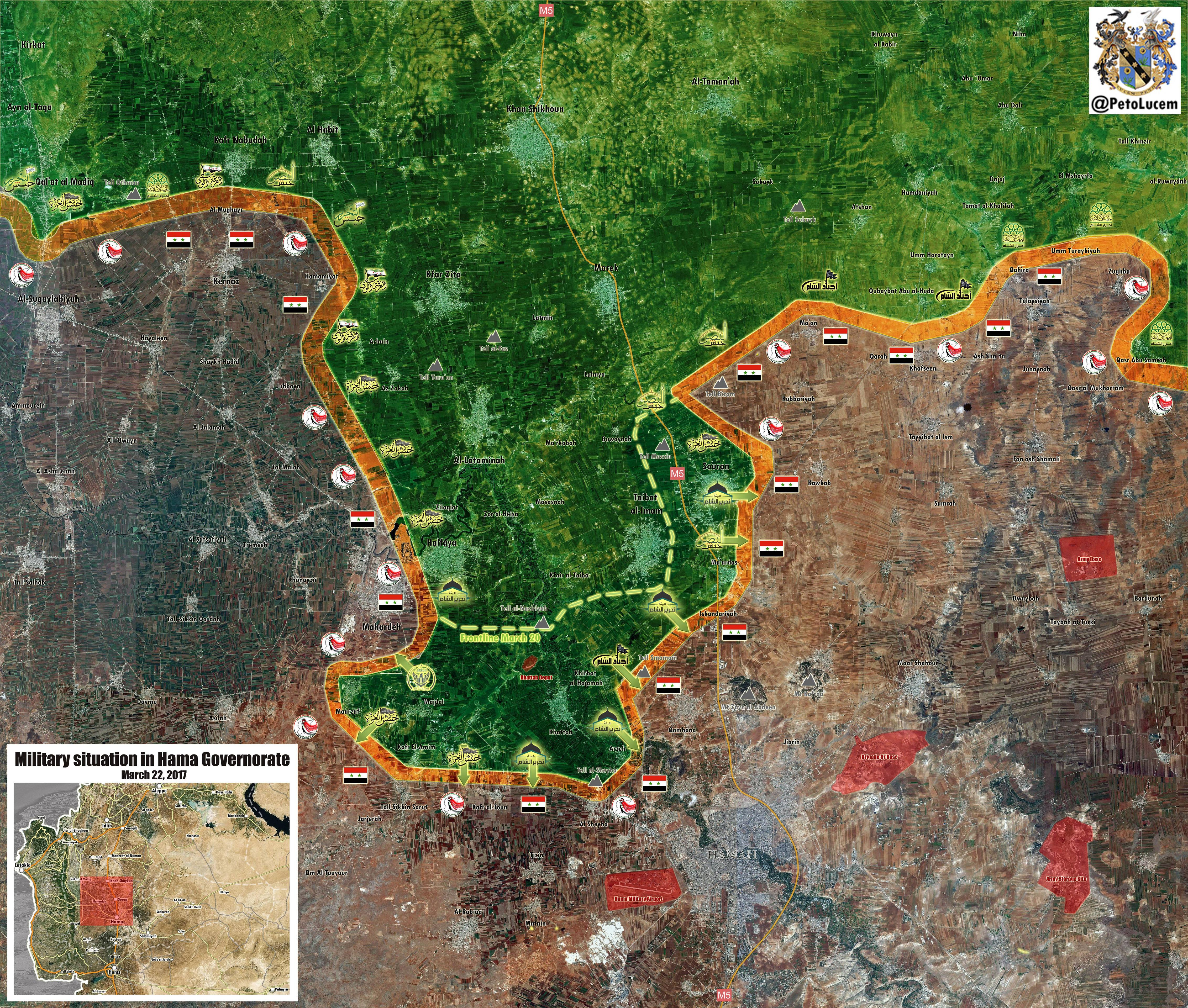 Syrian Military Sends Large Reinforcements To Combat Al-Qaeda-Linked Militants In Hama