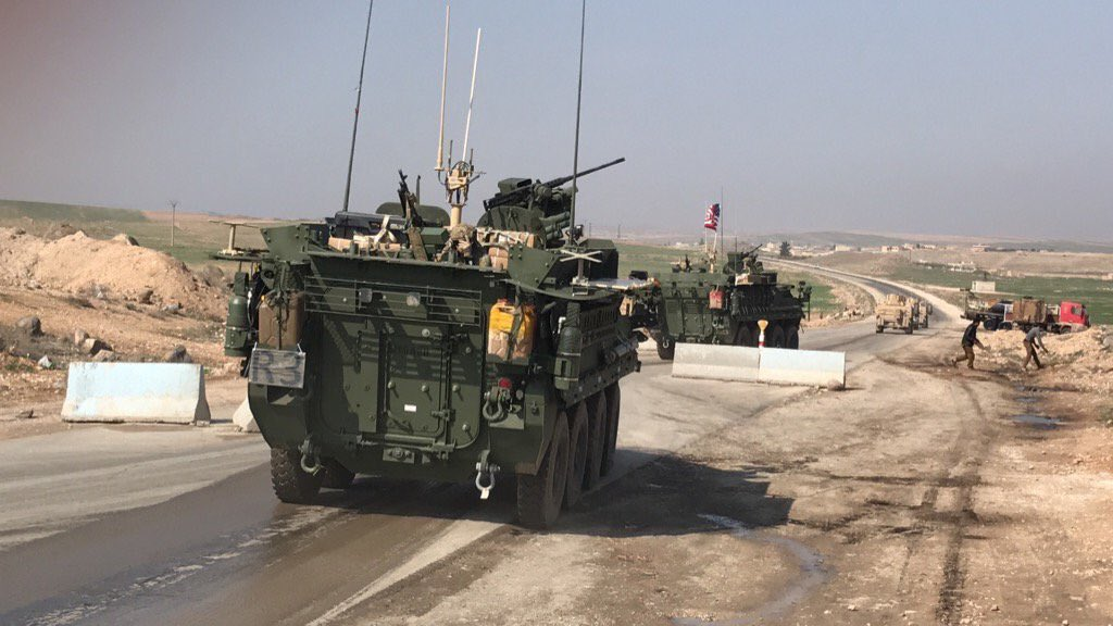US troops are near Manbij
