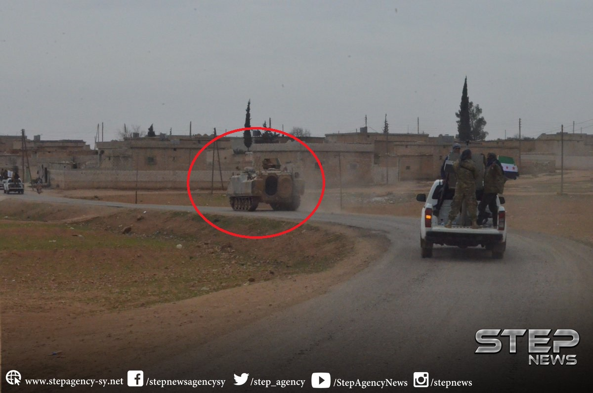 Alleged Photos Of Turkish ACV-15 Armoured Vehicle In Hama Appear Online. What Does This Mean?