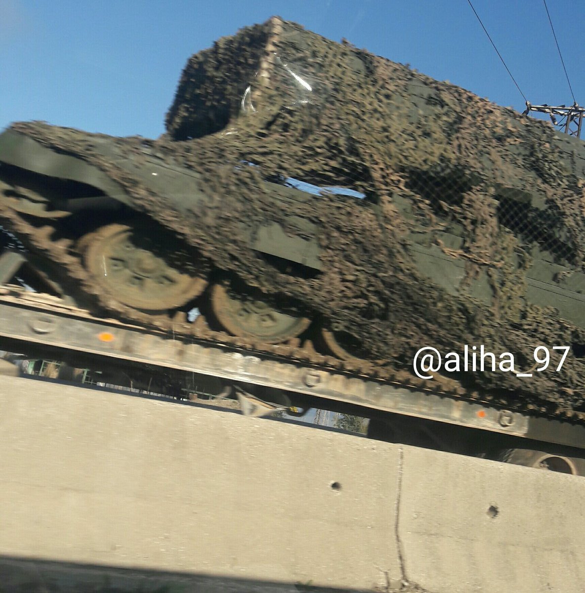 Photo: Russian TOS-1 Heavy Flamethrower System Moving To Hama To Purge Terrorists